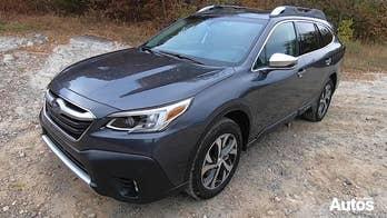 2020 Subaru Outback test drive