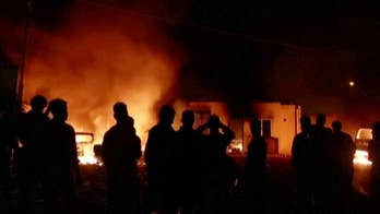Rioting migrants set several cars on fire and injured a policeman at a Malta holding center