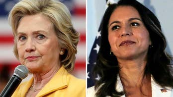 Battle lines drawn in Clinton-Gabbard feud