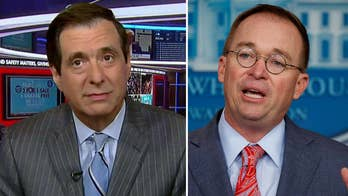 Howard Kurtz: Mulvaney's hands-off approach to Trump is what the boss wanted