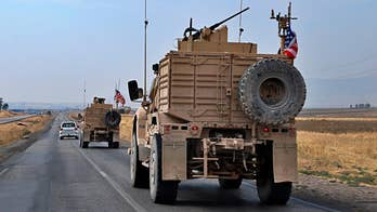 Defense official: All US armored vehicles evacuating northeast Syria have arrived in Iraq
