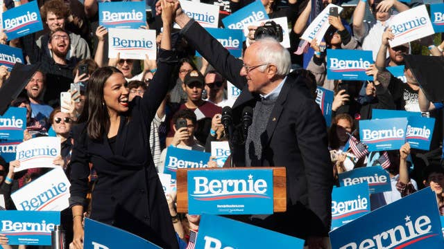 Democratic Congresswoman Ocasio-Cortez endorses Bernie Sanders