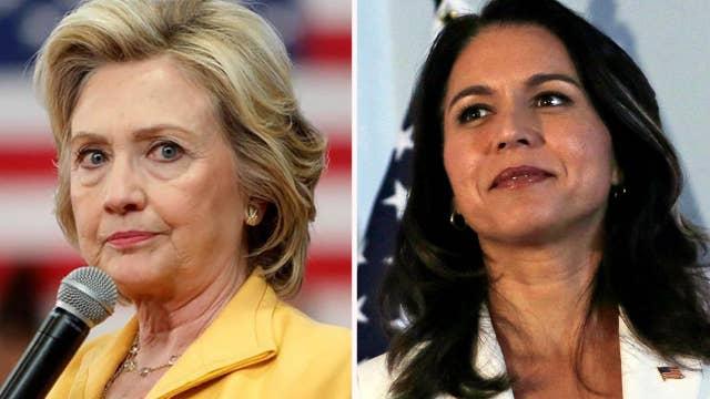 Battle lines drawn in Clinton-Gabbard feud