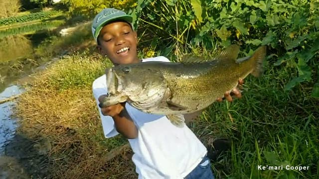 Caught on Video: Florida boy charms Twitter with catch-and-release fishing video