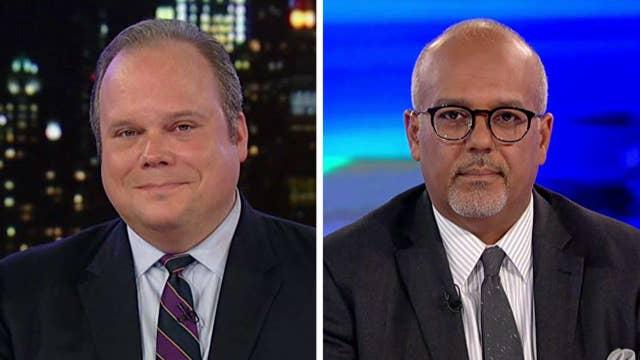 Trump weighs in on Clinton-Gabbard feud