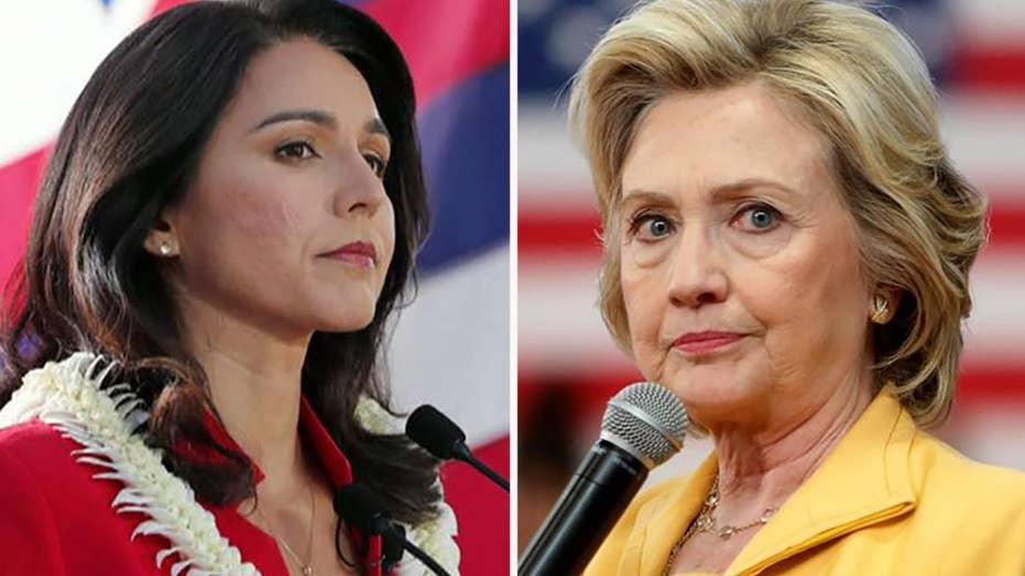 Clinton- Gabbard rift dates back to 2016 Democrat primary