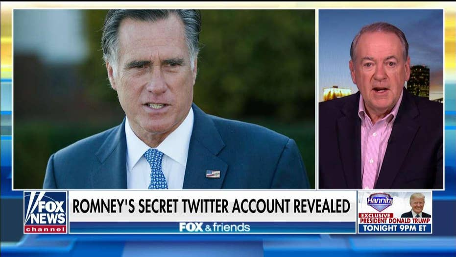 Mike Huckabee rails against Romney for his Pierre Delecto Twitter account: 'I'm embarrassed for him'