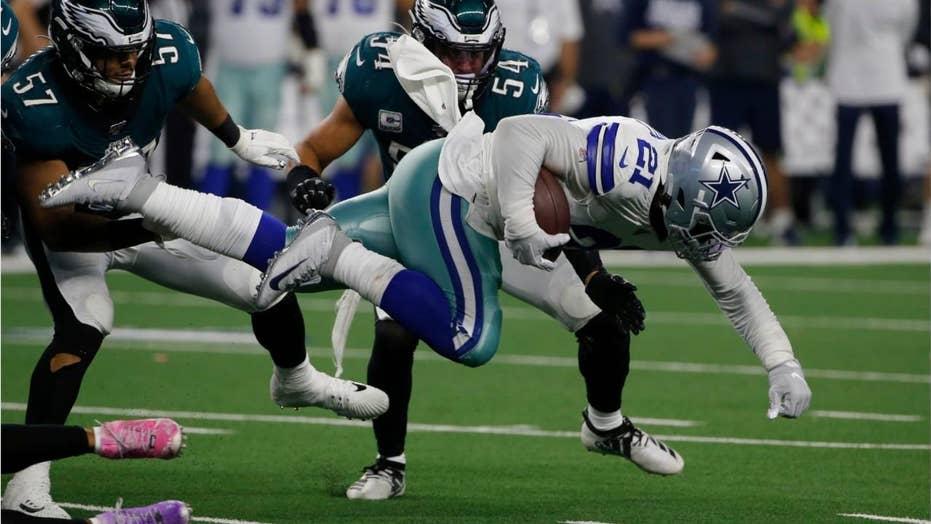 Cowboys' Ezekiel Elliott after victory over Eagles: 'We don't give a f---k what Doug Pederson says'