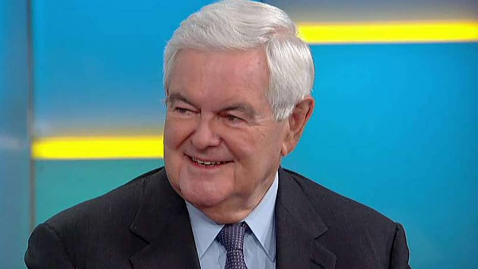 Newt Gingrich responds to Hillary Clinton slamming his 'partisan' '90s impeachment push