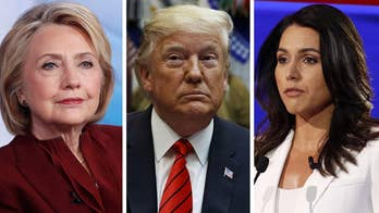 Trump defends Tulsi Gabbard amid Hillary Clinton accusation