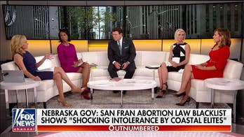 The 'Outnumbered' couch talks San Francisco's abortion law blacklist