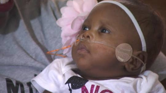 Baby born weighing less than 1 pound goes home from NICU nearly 5 months later