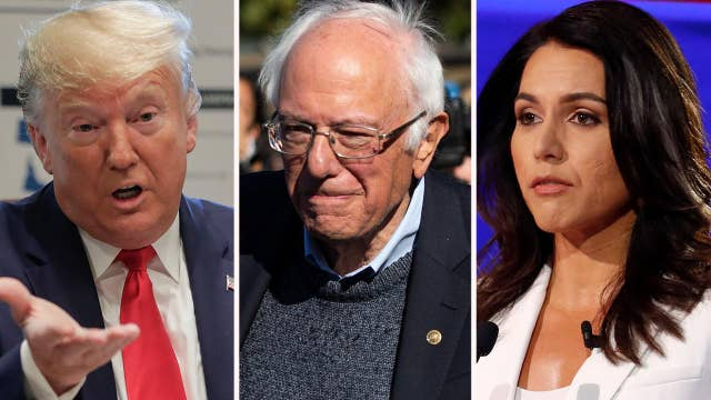 Trump, Sanders slam Hillary Clinton for suggesting Gabbard is a foreign asset