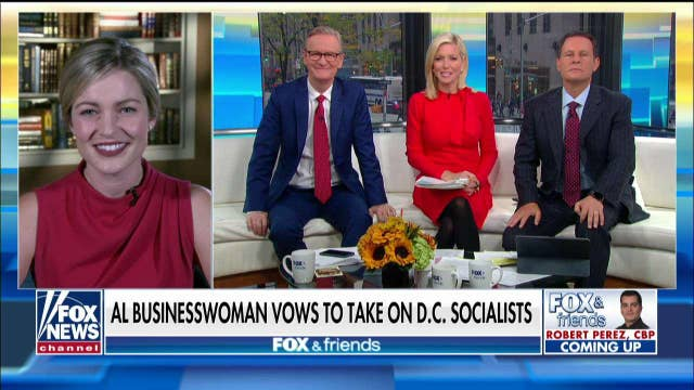 Alabama Congressional Candidate vows to take on the 'Squad' and socialism