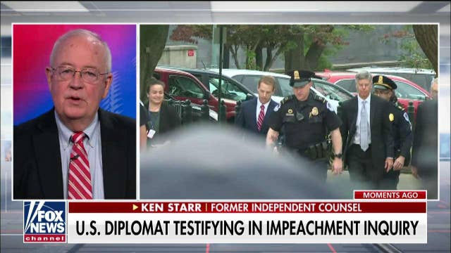 Ken Starr: Democrats doing disservice to America by shrouding investigation in secrecy: 'This is just wrong'