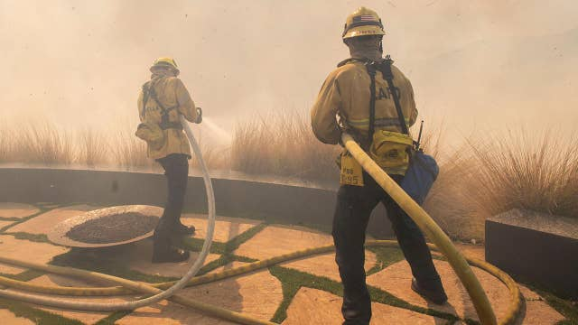 Seven wildfires break out in California as temperatures top 90 degrees