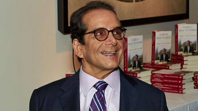 'The Point of It All': Collection of Charles Krauthammer's essays now available in paperback