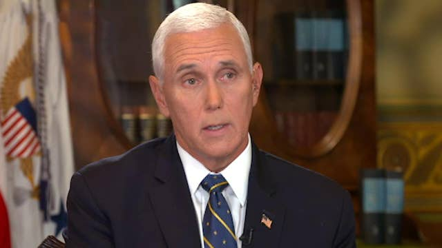Preview: Mike Pence on end to US-brokered cease-fire in Syria