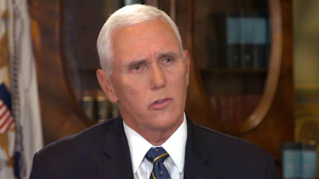 Preview: Mike Pence on response to Democrats' 'partisan' impeachment push