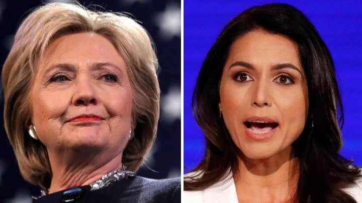 Tulsi Gabbard, Hillary Clinton clash over 'Russian asset' accusation