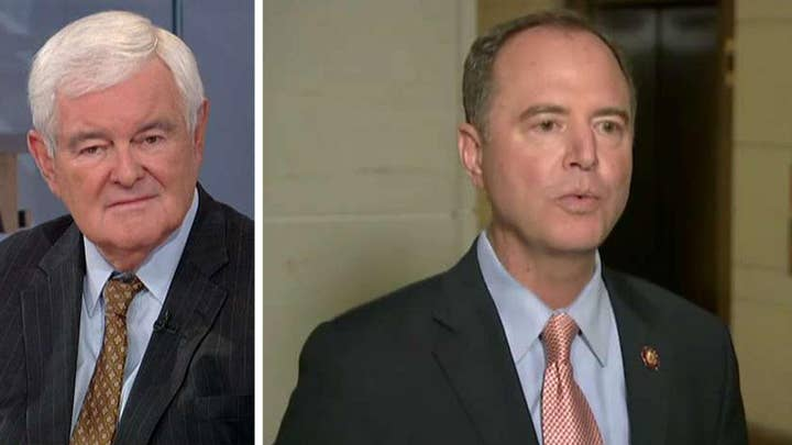 Gingrich: Schiff running a totally fraudulent fundamental violation of the American system