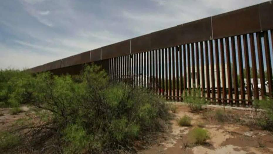Border patrol announces 74 miles of border wall completed, 159 miles under construction