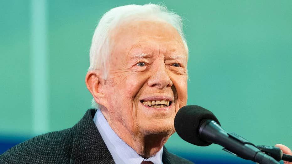 Former President Jimmy Carter hospitalized after another fall at home