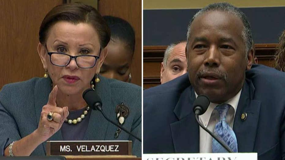 Ben Carson grilled by Democrat lawmaker on withholding funds for Puerto Rico