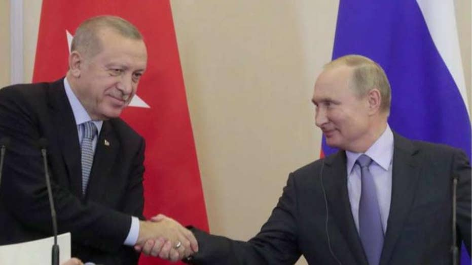 Lt. Col. Bob Maginnis on Turkey's deal with Russia: Erdogan is 'pushing the envelope'