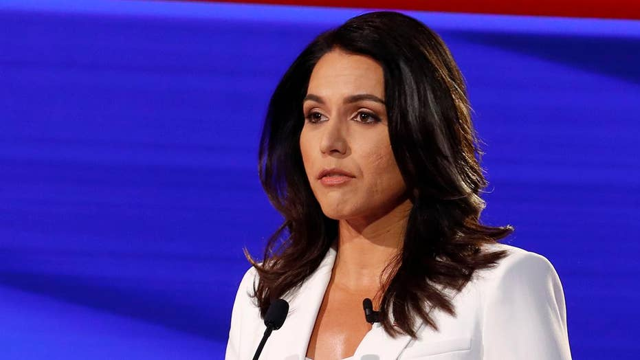 Tulsi Gabbard speaks at Fortune Magazine's Most Powerful Women Summit