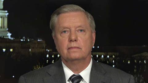 Sen. Lindsey Graham: Give Trump the same rights as Richard Nixon and Bill Clinton