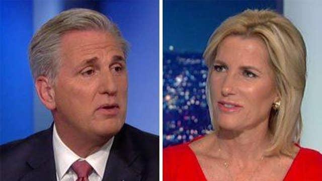 Kevin McCarthy blasts Democrats' impeachment inquiry