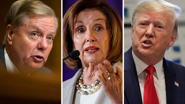 Graham condemns Democrats for refusing to hold full House vote to proceed with impeachment inquiry