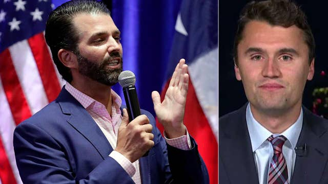 Campus conservatives flock to Turning Point USA event featuring Donald Trump Jr.