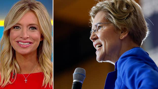 Trump campaign's Kayleigh McEnany predicts Warren will be Democrats' 2020 pick