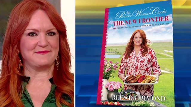 'The Pioneer Woman' Ree Drummond shares recipes from her new cookbook