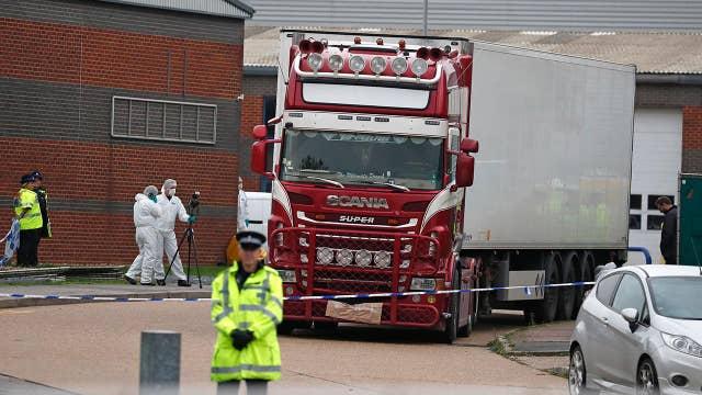 39 bodies found inside truck in England