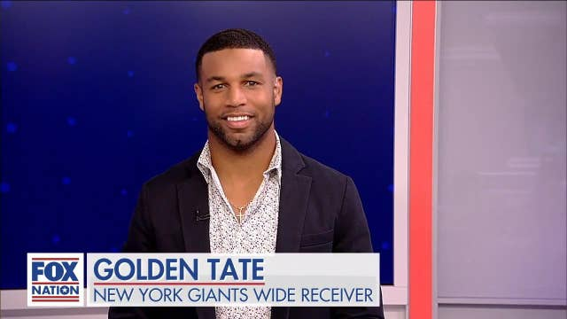 New York Giants' Golden Tate opens up about fatherhood