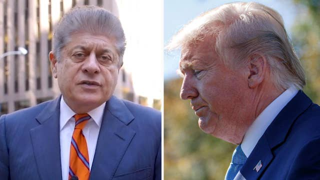 Judge Napolitano: Trump should uphold the Constitution, not disparage it