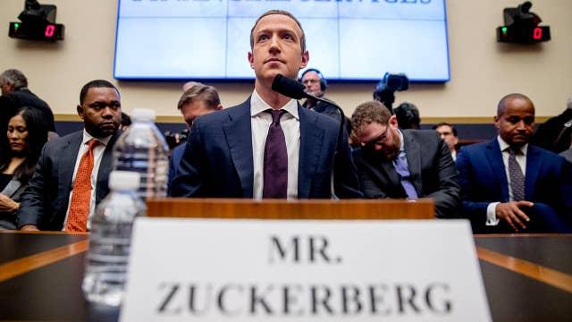 Mark Zuckerberg defends Facebook on Capitol Hill