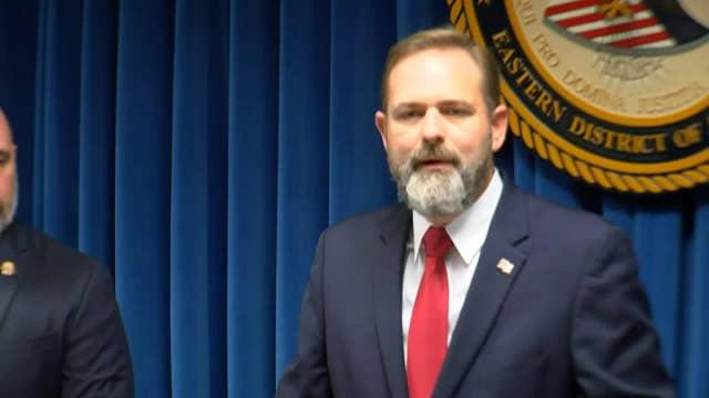 Arkansas officials hold press conference following arrest of fentanyl distributors