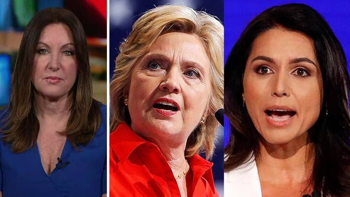Leslie Marshall: Why the Hillary Clinton-Tulsi Gabbard feud is a gift to Trump