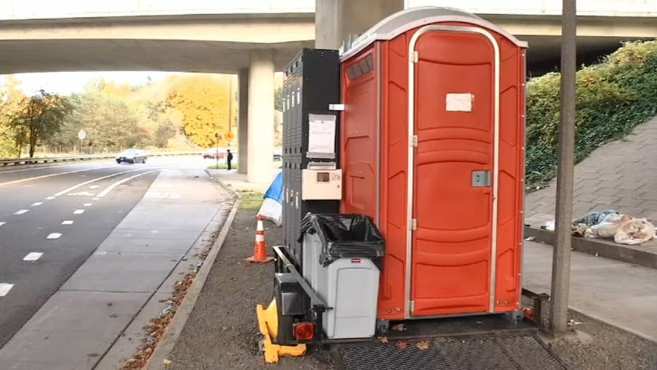 Local leaders add mobile hygiene units to homeless camps in Portland