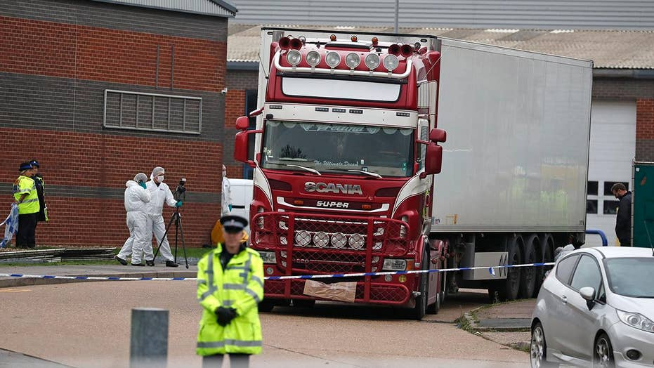 39 bodies found inside truck in England