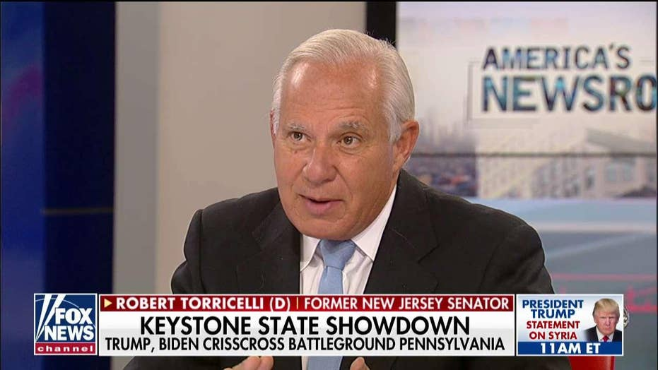 Bob Torricelli on problems with Biden: Hunter Biden issues becomes like 'Hillary's emails'