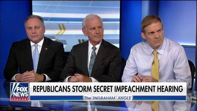 Jim Jordan responds to GOP lawmakers storming the SCIF