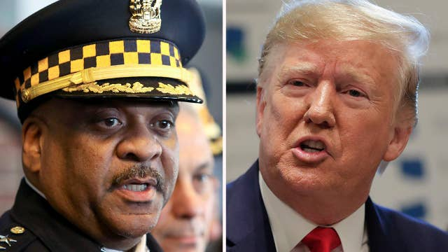 Chicago police chief plans to skip President Trump's first visit to the city