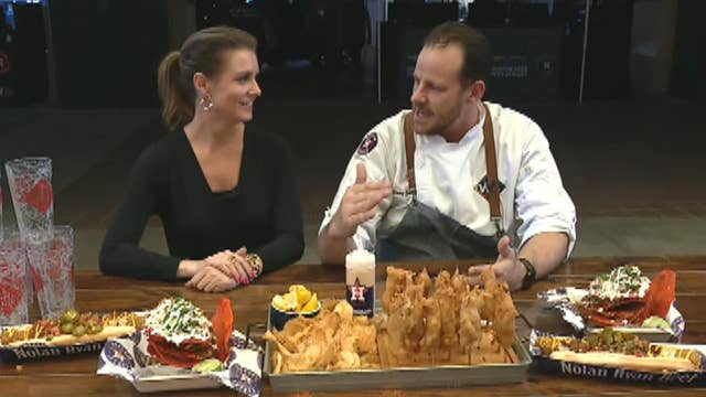 Web exclusive: World Series eats at Minute Maid Park
