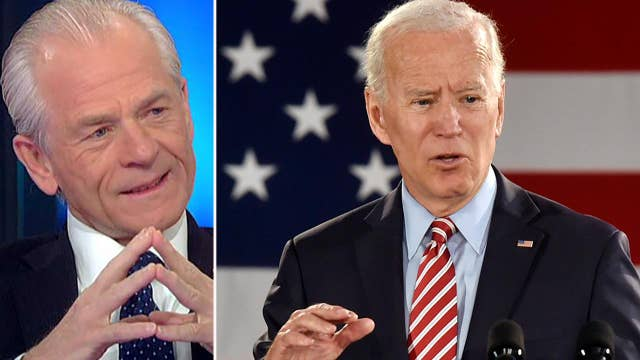 White House reacts to Joe Biden blasting the Trump economy