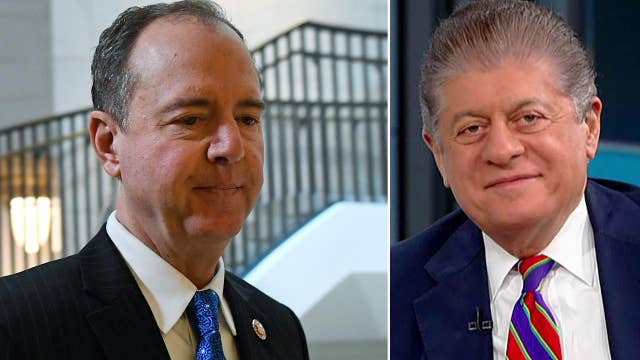 Judge Napolitano: As frustrating as it is, Schiff is following the rules
